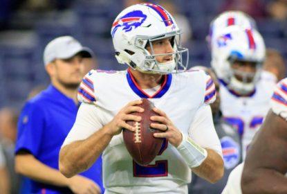 Nathan Peterman deve ser o quarterback titular dos Bills na semana 9 - The Playoffs