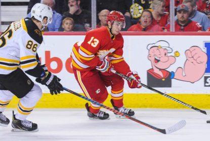 Flames goleiam Bruins e colam na liderança da divisão - The Playoffs