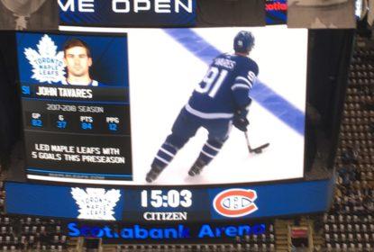 John Tavares faz ótima estreia em vitória dos Maple Leafs - The Playoffs