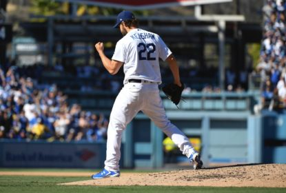 Dodgers batem Giants sem sofrer corridas em rodada dupla - The Playoffs