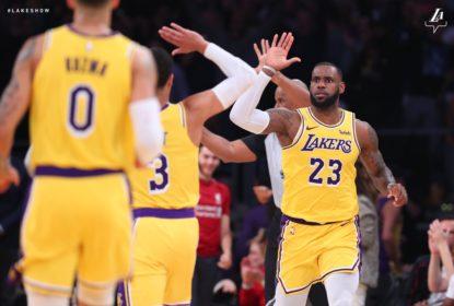 LeBron anota triplo-duplo e Lakers acabam com invencibilidade dos Nuggets - The Playoffs