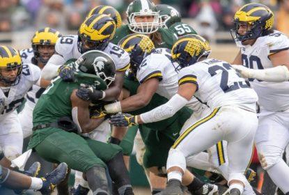 Defesa brilha e conduz vitória de Michigan sobre Michigan State - The Playoffs
