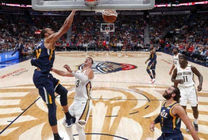 Jazz aproveita ausência de Davis e vence Pelicans fora de casa