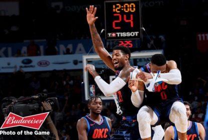 Thunder vence Suns e conquista primeira vitória na temporada - The Playoffs