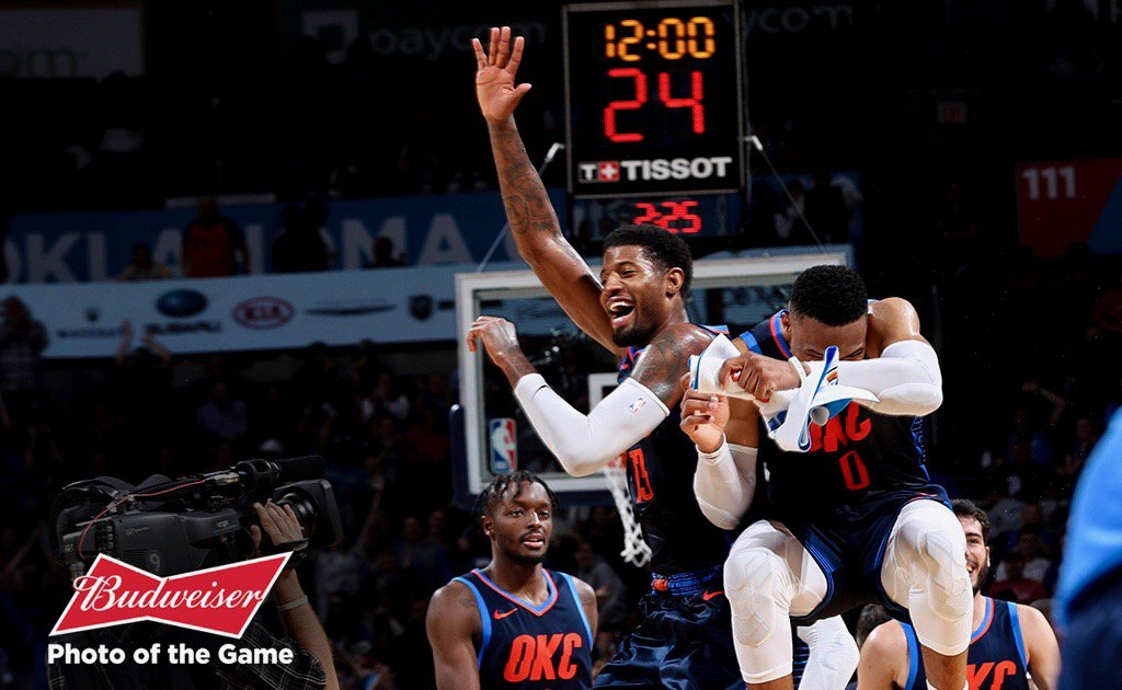 Thunder vence Suns e consegue primeira vitória na temporada