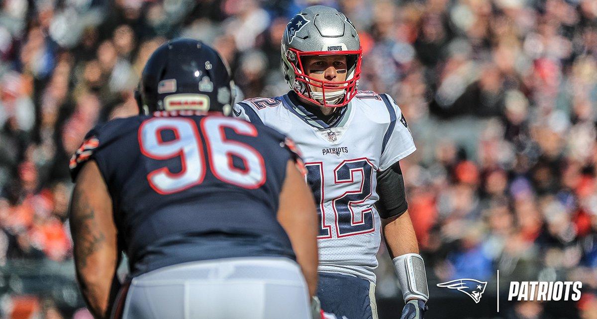 New England Patriots vence Chicago Bears fora de casa por 38 a 31