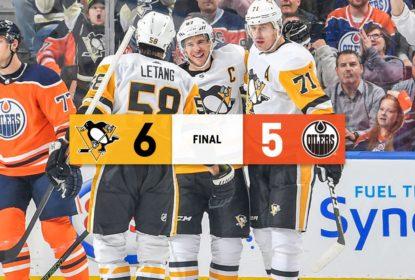 Crosby desencanta, marca no overtime e garante vitória dos Penguins - The Playoffs