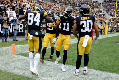 Steelers vencem Browns em grande jogo do seu trio ofensivo - The Playoffs