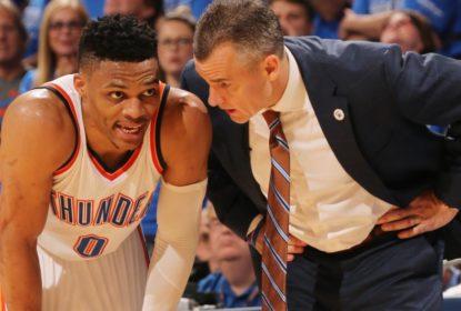 Donovan ainda não garante Westbrook para estreia da temporada - The Playoffs