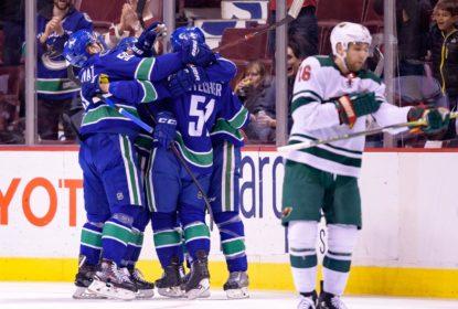 Vancouver Canucks encerra sequência de vitórias do Minnesota Wild - The Playoffs