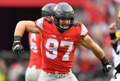 Nick Bosa deixa Ohio State de olho no NFL Draft