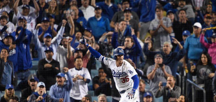 Dodgers vencem maratona contra Brewers e empatam NLCS