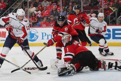 Na estreia em casa, New Jersey Devils goleia Washington Capitals - The Playoffs