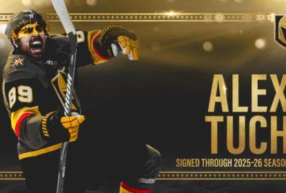 Alex Tuch renova contrato com os Golden Knights por mais sete anos - The Playoffs