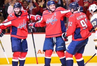 Com show de Kuznetsov e Ovechkin, Capitals vencem Golden Knights - The Playoffs