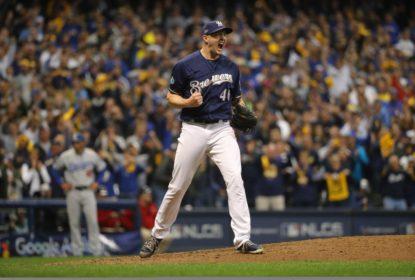 No sufoco, Brewers vencem Dodgers e abrem vantagem na NLCS - The Playoffs