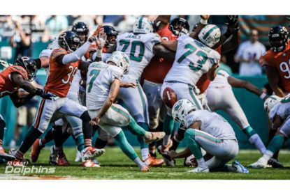 Em overtime movimentado, Dolphins vencem os Bears no último segundo - The Playoffs
