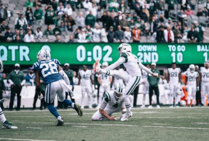 Abusando dos field goals, New York Jets vence o Indianapolis Colts - The Playoffs