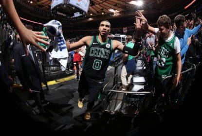 Tatum decide e Celtics vencem Knicks no MSG - The Playoffs