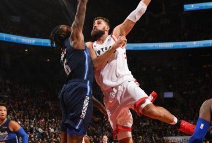 """Valanciunas fala sobre título dos Raptors: """"fiquei um pouco chateado"""" - The Playoffs"""
