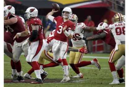 Em partida apertada, Josh Rosen busca a virada para os Cardinals com 34 segundos do fim - The Playoffs
