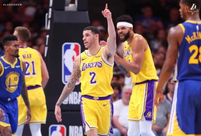 Lakers vencem Warriors