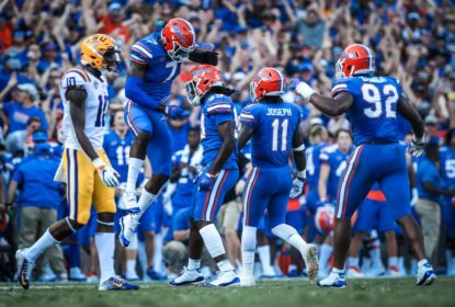 Florida Gators acaba com a invencibilidade de LSU Tigers
