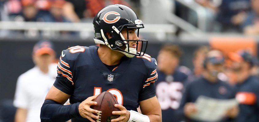 Quarterback do Chicago Bears Mitchell Turbisky é uma ótima aposta para a semana 7 do Fantasy Football da NFL 2018