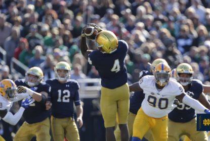 Notre Dame passa sufoco, mas derrota Pitt e continua invicta - The Playoffs