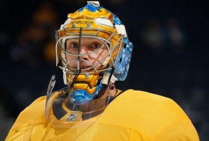 Pekka Rinne é colocado na lista de lesionados dos Predators - The Playoffs