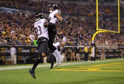 Ravens dominam ações e vencem Steelers no Sunday Night Football - The Playoffs