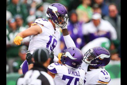 Vikings se impõem nos segundo tempo e vencem Jets em NY - The Playoffs