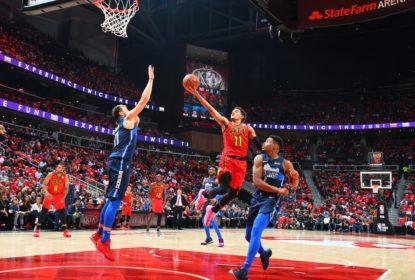 No confronto entre Trae Young e Luka Doncic, Hawks superam Mavericks - The Playoffs