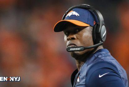 Head coach do Denver Broncos Vance Joseph