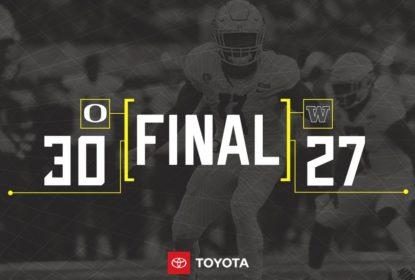 Com emoção, Oregon vence Washington no overtime - The Playoffs