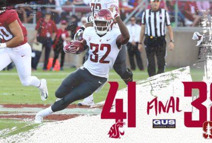 Com field goal nos segundos finais, Washington State vence Stanford - The Playoffs
