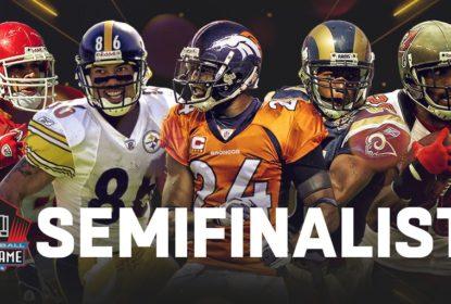 Pro Football Hall of Fame anuncia 25 semifinalistas para Classe de 2019 - The Playoffs