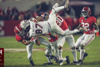 Alabama segue liderando com tranquilidade ranking do CFP - The Playoffs