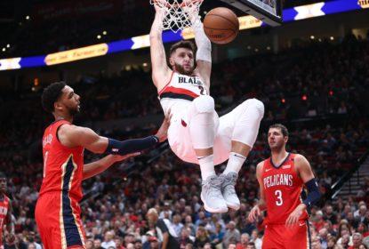 Com grande último quarto, Blazers batem os Pelicans - The Playoffs