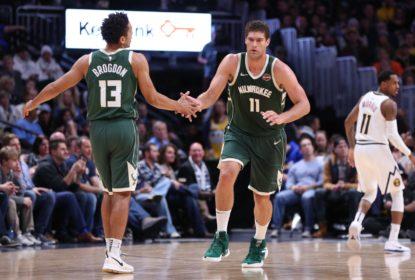 Bucks vencem os Nuggets com atuação inspirada de Brook Lopez
