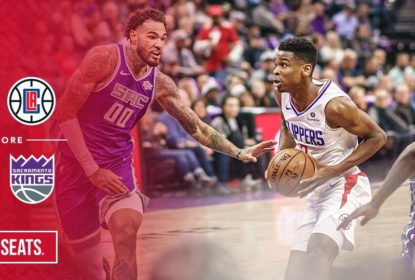 Clippers vencem os Kings fora de casa e se mantém na liderança do Oeste