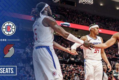 Clippers vencem os Blazers e assumem liderança do Oeste - The Playoffs