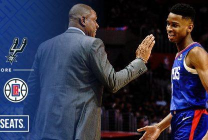 Clippers vencem os Spurs jogando em casa