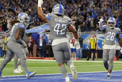 Detroit Lions bate Carolina Panthers e volta a vencer pela NFL - The Playoffs