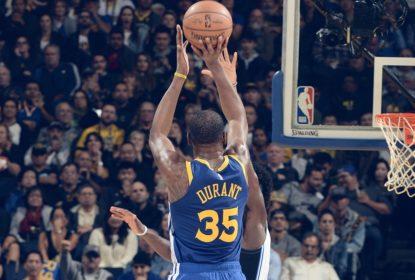 Warriors vencem Magic com 49 pontos de Kevin Durant