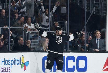 Kings vencem Oilers com hat trick de Dustin Brown - The Playoffs