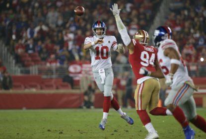 Eli Manning é confirmado como titular dos Giants para enfrentar os Eagles - The Playoffs