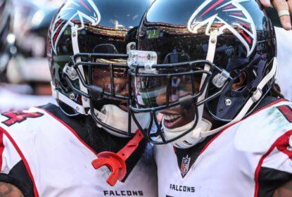 Julio Jones quebra tabu e Atlanta Falcons engata terceira vitória - The Playoffs