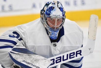 Leafs anunciam que Andersen será avaliado diariamente por lesão - The Playoffs