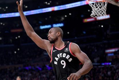 Ibaka é destaque e Raptors passam por cima dos Lakers